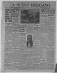El Nuevo Mexicano, 09-22-1921 by La Compania Impresora del Nuevo Mexicano