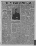 El Nuevo Mexicano, 11-10-1921 by La Compania Impresora del Nuevo Mexicano
