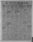 El Nuevo Mexicano, 12-08-1921 by La Compania Impresora del Nuevo Mexicano