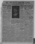 El Nuevo Mexicano, 12-29-1921 by La Compania Impresora del Nuevo Mexicano