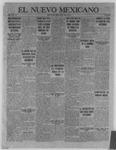 El Nuevo Mexicano, 05-11-1922 by La Compania Impresora del Nuevo Mexicano