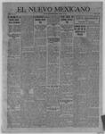 El Nuevo Mexicano, 08-10-1922 by La Compania Impresora del Nuevo Mexicano