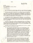Sophie D. Aberle Letter by Henry Gasper