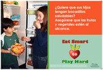 Reach for a Healthy Snack - Spanish