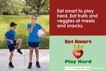 Eat Smart, Play Hard Poster 2 English 2018