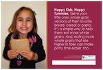 Happy Kids, Happy Tummies - English