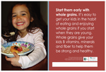 Start Them Early with Whole Grains - English by Glenda Canaca
