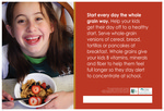 Start Every Day the Whole Grain Way for Parents - English