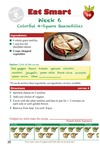 Eat Smart 4th Grade Week 6 Colorful 4-Square Quesadillas (English & Español) by Glenda Canaca