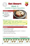 Eat Smart 5th Grade Week 6 Colorful 4-Square Quesadillas (English & Español) by Glenda Canaca