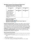 2015/2016 Valencia GE Core Assessment