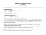 2014/2015 COE Health Education (M.S.)//Community Hlth Ed (Conc) Assessment
