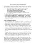 2015/2016 ASM MBA/ED Assessement Plan