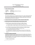 UNM Taos Human Services Certificate Plan, Reports, Maturity Rubric  2017-2018