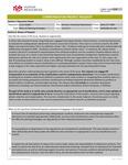 2017-2018 Advising Strategies HR Advisement Project