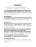 2018 UNM Taos REVISED State of Assessment Rubric and Narrative