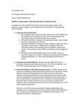 2017/2018 SOE Engineering Academic Council Meeting Minutes