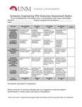 2017/2018 SOE Computer Engineering PhD Assessment Rubric