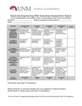 2017/2018 SOE Electrical Engineering PhD Assessment Plan