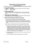 2010-2011 SOM Clinical Translational Sci G-Cert Assessment Plan