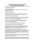 2010-2011 SOM Global Geo Medicine G-Cert Assessment Plan