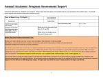 2015-2016 LA  ARTH 250-Studio Art AA Assessment report