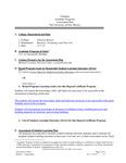 2014-2015 Valencia Sust Building Cert Assessment Plan
