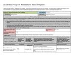 2015-2016 LA Robotics_Cert_Assessment Plan