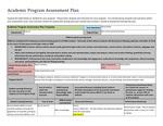 2015-2016 LA Environmental science_AS_Assessment Plan