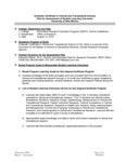 2010-2011 SOM - Clinical Translational Sci G-Cert Prog  Assessment Plan