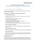 2012-2013 SPA Assessment Plan