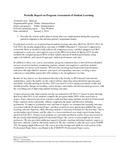2012-2013 SPA Assessment Report
