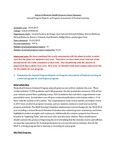 2014-2015 SOM HSC Assessment Report Summary