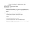 2013-2014 CAS Economics MA Assessment Report