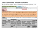 2013/2104 LOS ALAMOS Pre-Health AAS Assessment Report