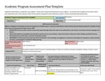 2013/2104 LOS ALAMOS Pre-Health AS Assessment Plan