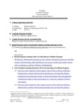 2014-2015 Valencia Bus Admin Cert Assessment Plan