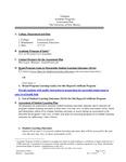 2014-2015 Valencia Personal Care Attendant Cert Assessment Plan