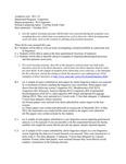 2012 CAS Linguistics BA Assessment Report