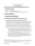 2015-2016 Valencia IT Cert Assessment Plan