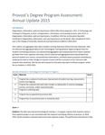 2014-2015 OILS State of Assessment Report