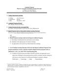 2016-2017 CAS Biology MS II Assessment Plan