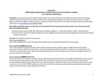 2018/2019 PhD Linguistics Program Assessment