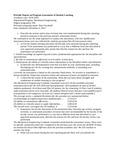 2018-2019 SOE Mechanical Engineering MS Assessment Report
