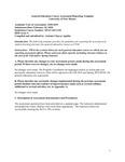 2018-2019 UNM-Taos General Education Area 6 SPAN 101/1110 Report