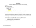 2018/2019 CAS Criminology BA Assessment Plan and Report