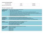 2019 Fall LA Computer Science 151L Assessment Report