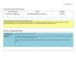 2019 Fall LA Solar Technology 250 Assessment Report