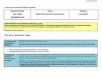 2020 Spring LA Communication 2140 Stupka Assessment Report