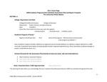 2019/2020 COEHS PE Curriculum & Instruction PhD Assessment